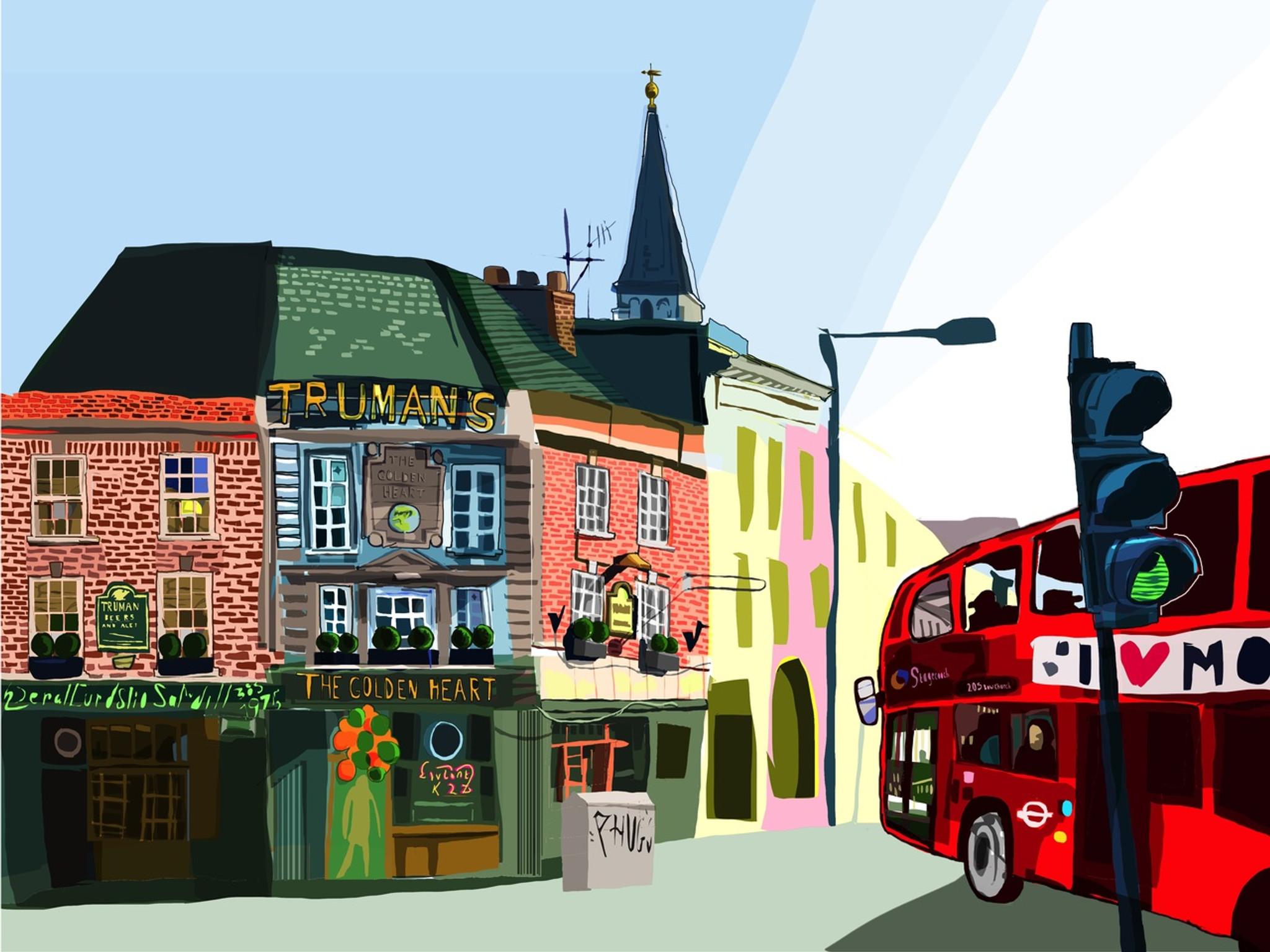 The Golden Heart Pub