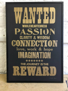 Wanted - Limited Edition Print