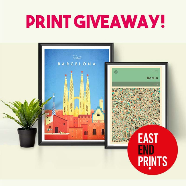 Print Giveaway! Treat Yourself and A Friend!