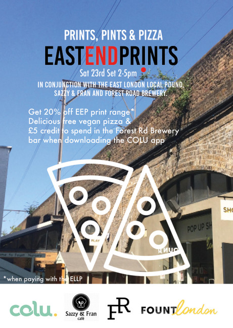 Prints, Pints & Pizza! Join us on Sat 23rd 2017