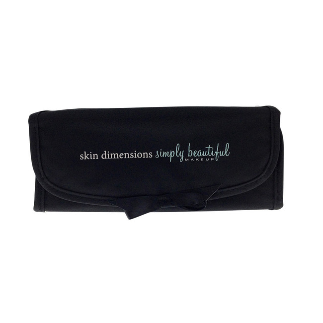 Simply Beautiful Black Makeup Bag