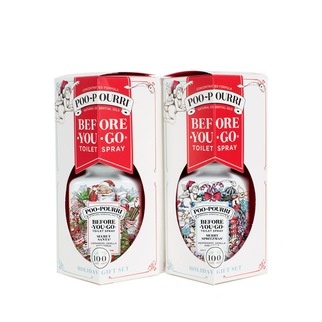 Poo Pourri Holiday Gift Set