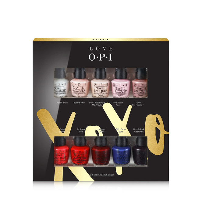 OPI LOVE XOXO 10-Pc Mini Set