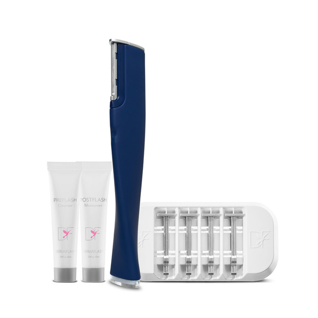 New Navy Dermaflash 2.0 Facial Exfoliating Device