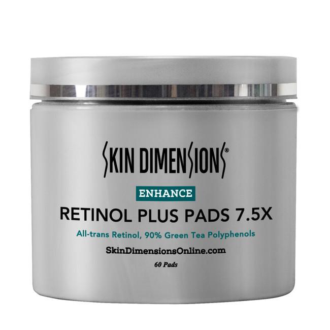 Skin Dimensions Retinol Plus Pads 7.5x