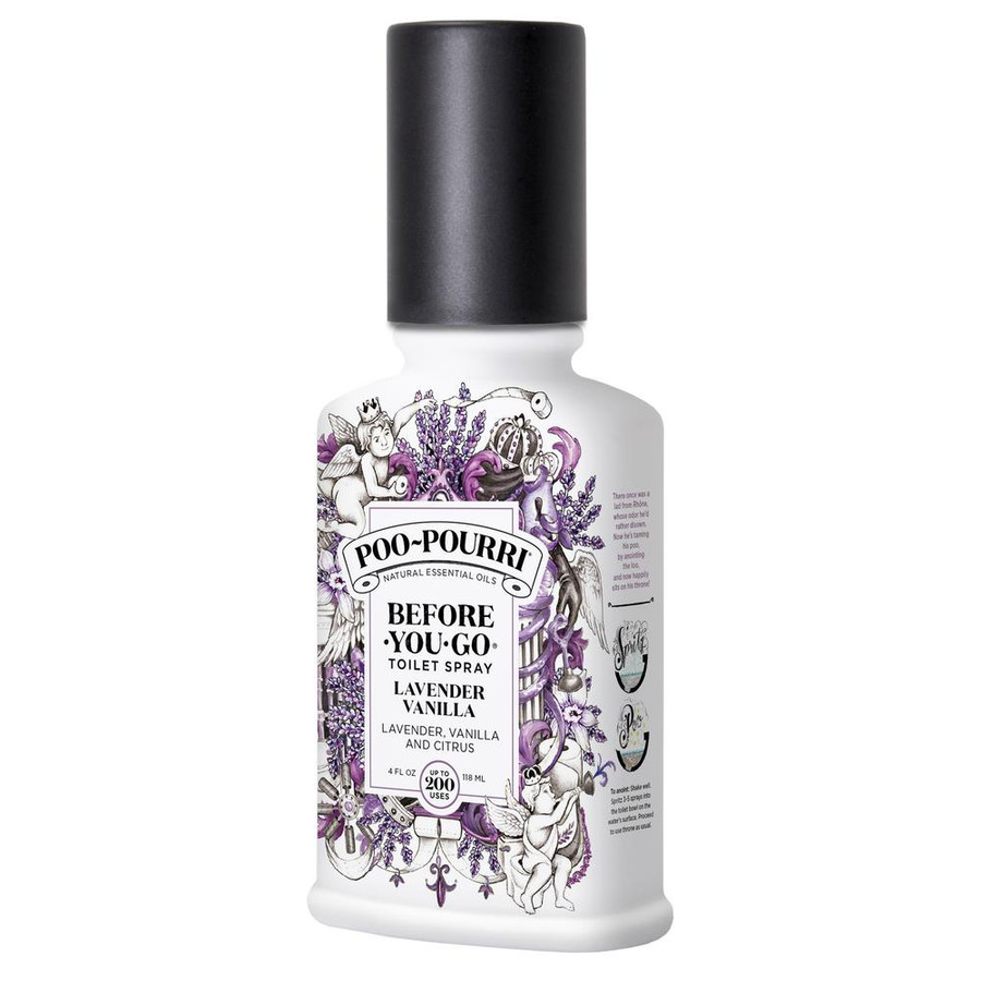 Poo Pourri Before-You-Go Toilet Spray Lavender Vanilla 4 oz.