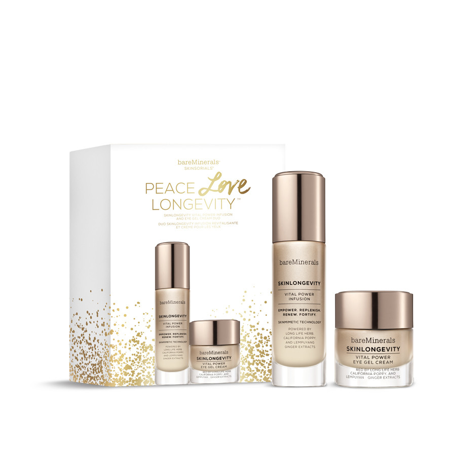 bareMinerals Peace. Love. Longevity. Skincare Set