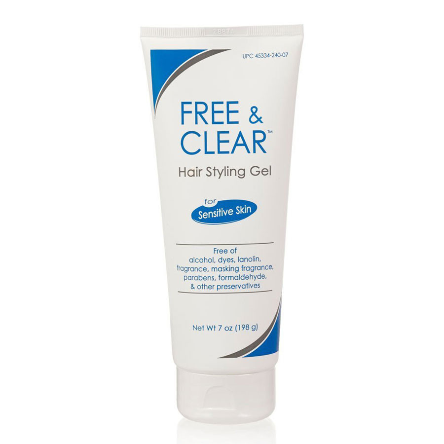 Free & Clear Hair Styling Gel