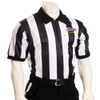 "KHSAA Embroidered 2"" Stripe Mesh Football Referee Shirt"