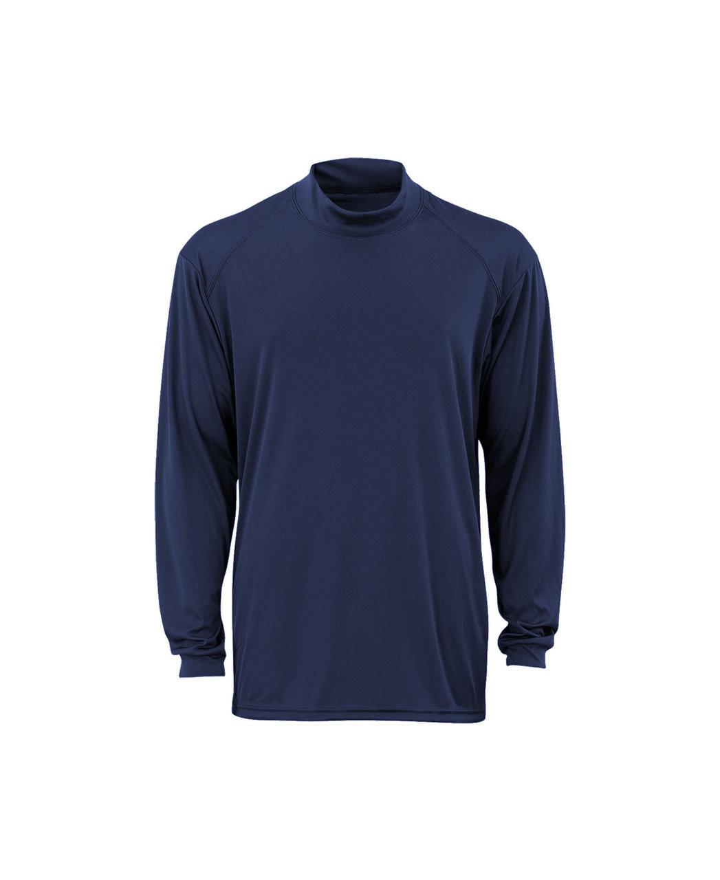 Badger B-Core Mock Shirt Navy
