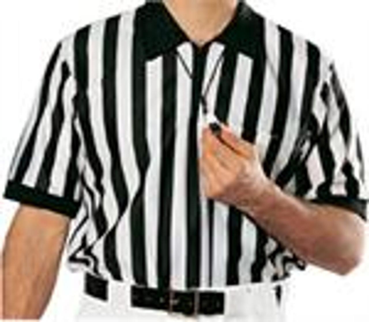Cliff Keen Polyester Short Sleeve Football Refere Shirt Extra Tall