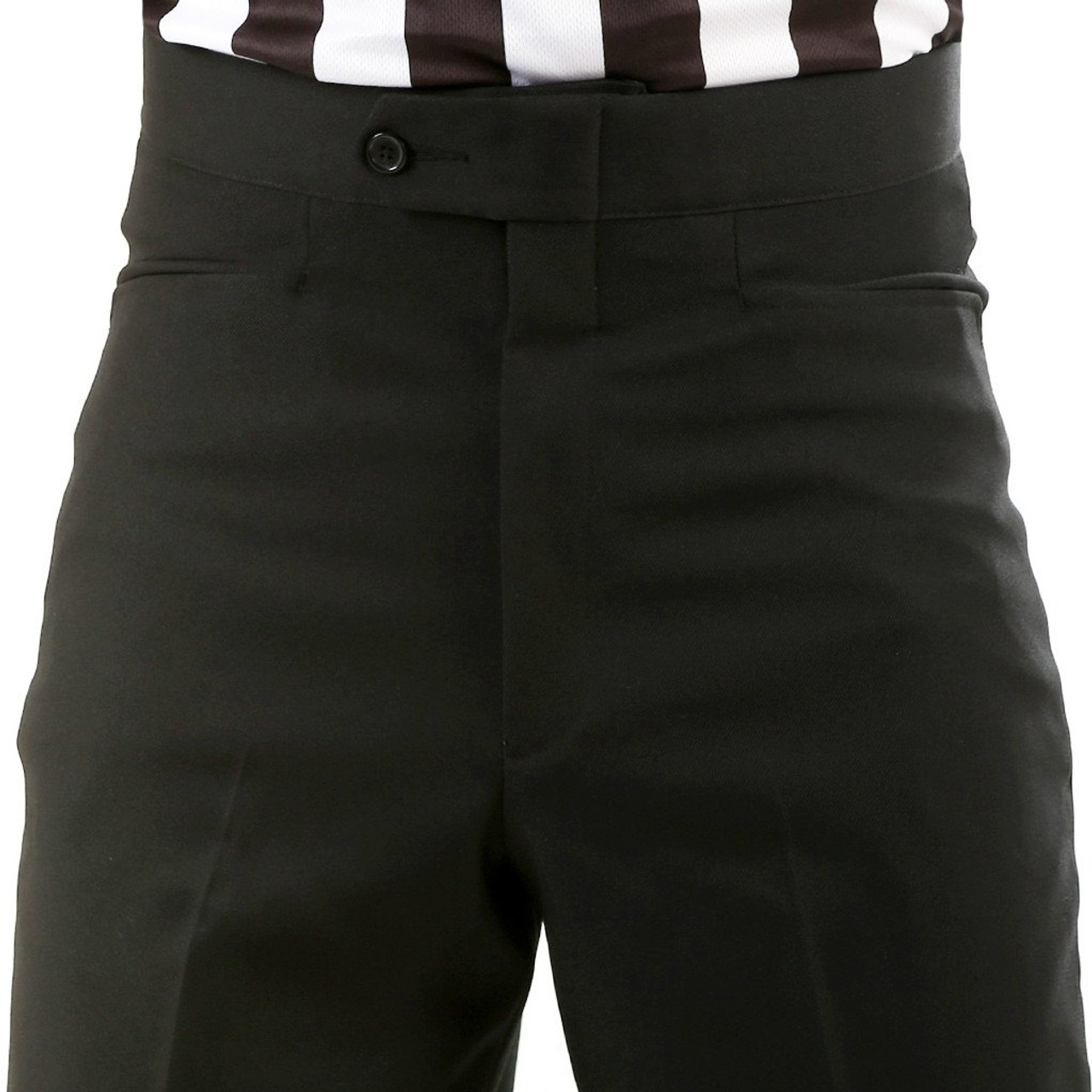 Smitty Flat Front Western Pocket Referee Pants