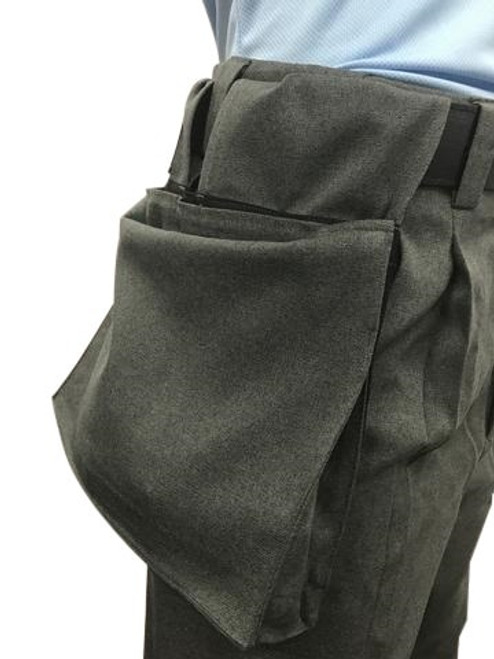 Smitty Charcoal Deluxe Ball Bag w/ Expandable Insert