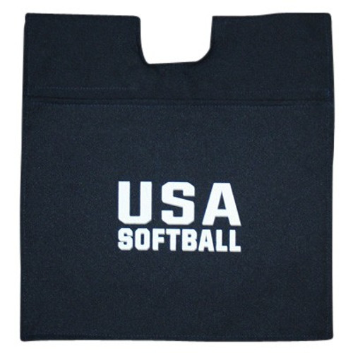 USA Softball Navy Umpire Ball Bag