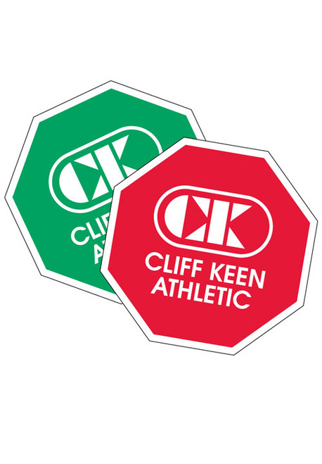 Cliff Keen Red and Green Octagon Shaped Wrestlng Referee Flip Disk