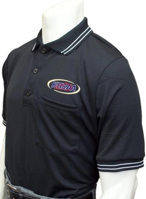 Kentucky KHSAA Honig's Embroidered Black Umpire Shirt