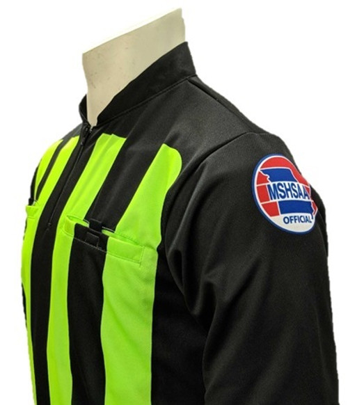 Missouri MSHSAA Long Sleeve Soccer Referee Shirt