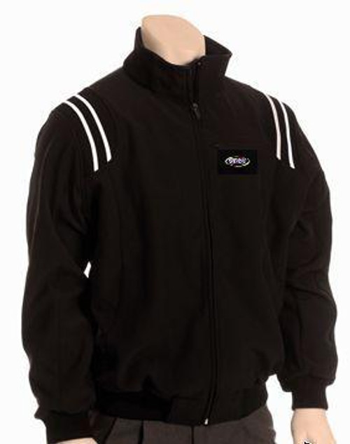 KHSAA Black Thermal Full Zip Umpire Jacket