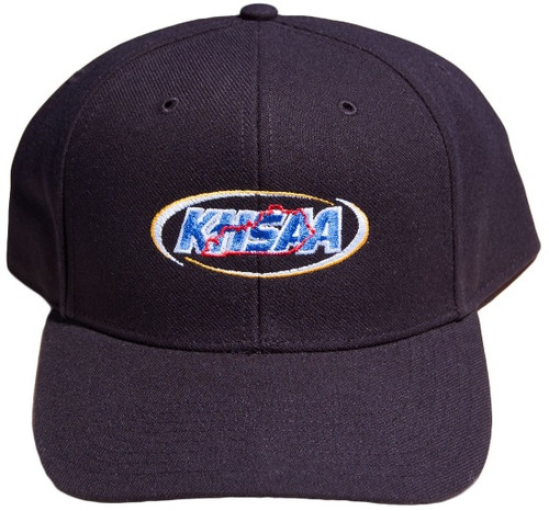 Kentucky KHSAA Adjustable 8-stitch Umpire Base Cap