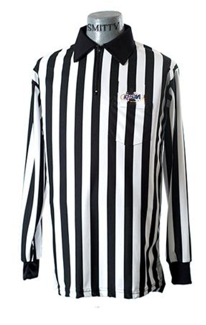 Smitty KHSAA Long Sleeve Football Referee Shirt