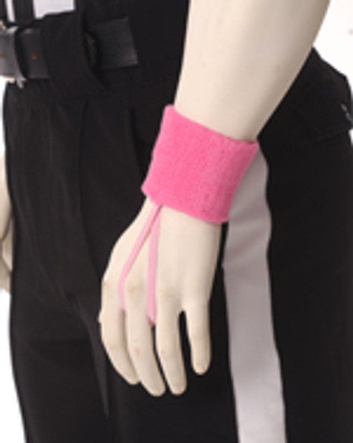 Pink Wristband Down Indicator