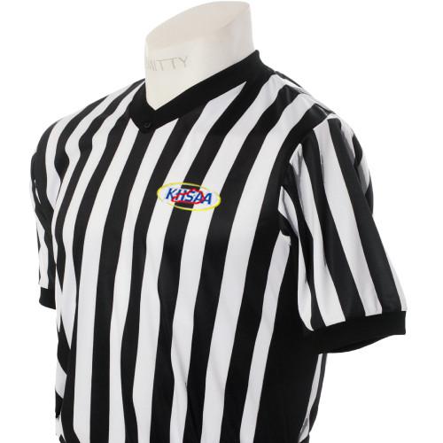 Smitty KHSAA Smitty Ultra Mesh Side Panel Referee Shirt
