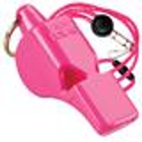 Pink Fox 40 Mini Whistle with Lanyard