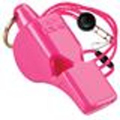 Pink Fox 40 Mini Whistle with Lanyard