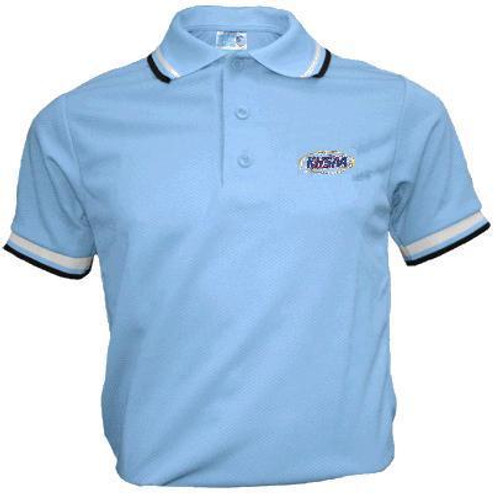 KHSAA Powder Blue Umpire Shirt No Pocket