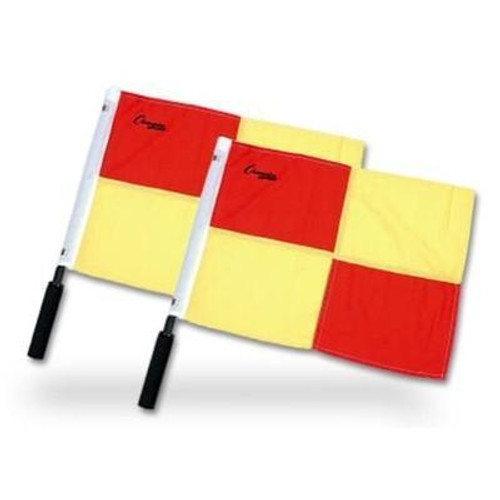 Champion Sports Checkered Linesmand Flags