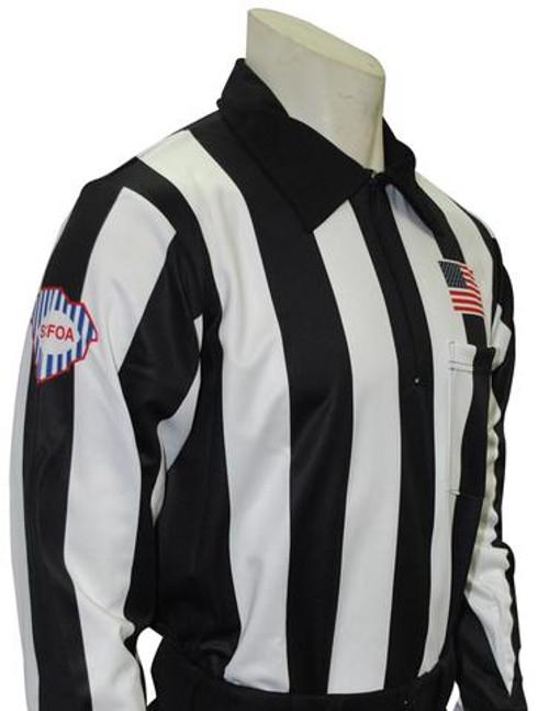 South Carolina SCFOA Long Sleeve Football Referee Shirt