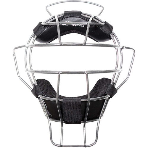 Champro Sports Lightweight Silver Frame Umpire Face Mask