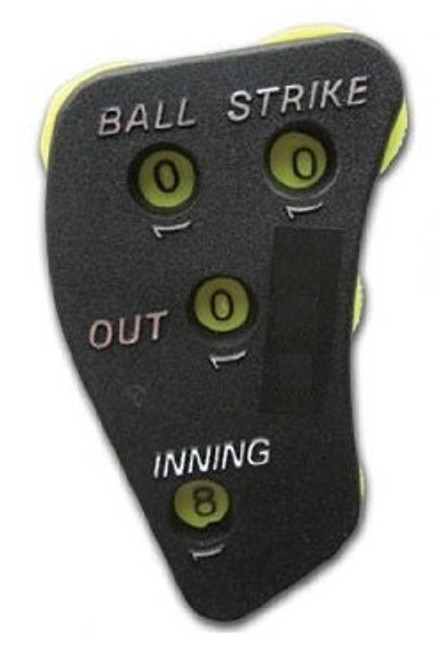 4-Dial 3/2 Call Order Umpire Indicator with Optic Yellow Dials