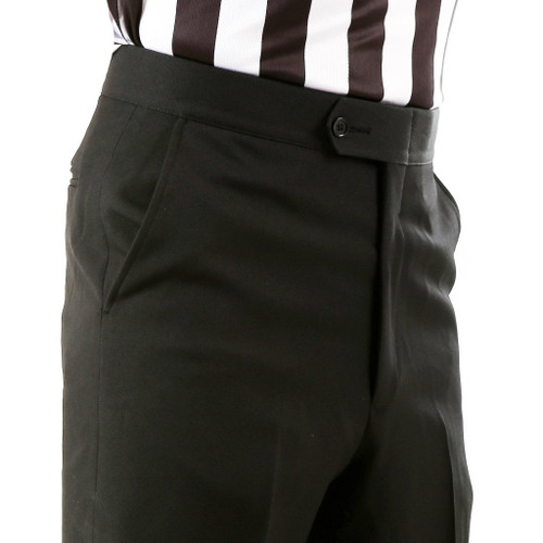 Smitty Flat Front Slash Pocket Referee Pants