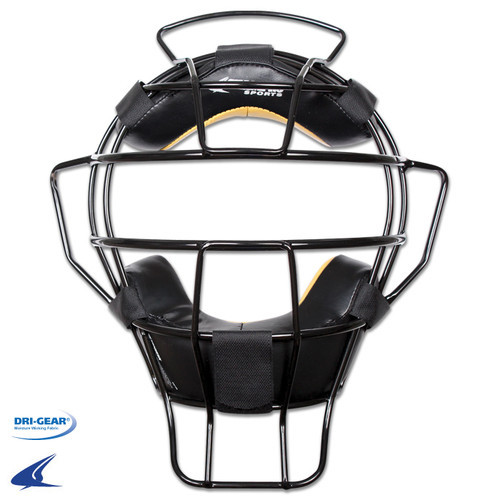 Champro Lightweight Umpire Mask Leather Biofresh Pads