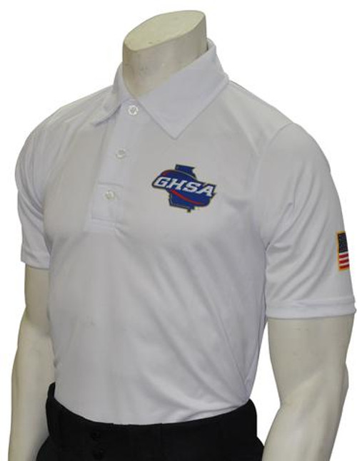 Georgia GHSA Men's Dye Sublimated Volleyball & Swimming Referee Shirt