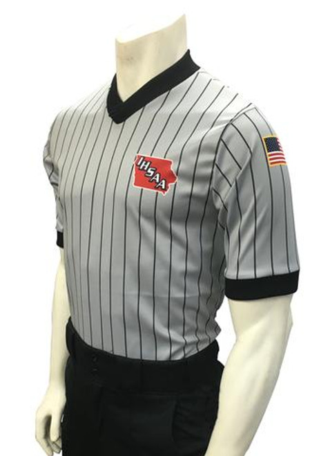 Iowa IHSAA Dye Sublimated Wrestling Referee Shirt