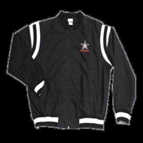 Alabama AHSAA Black Referee Pregame Jacket with White Trim