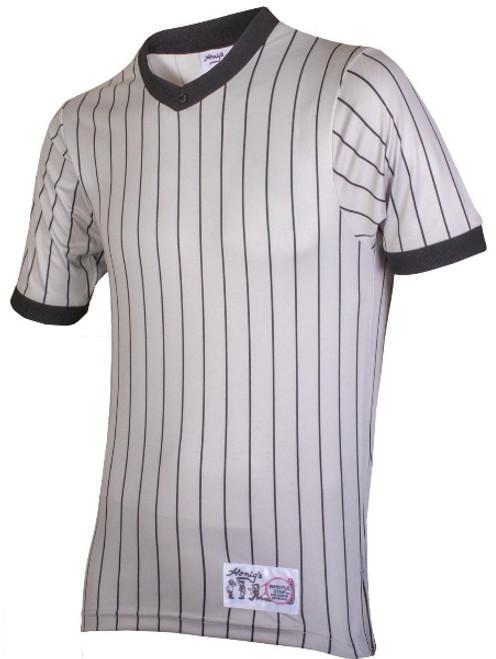 Honig's Grey Pinstripe Referee Shirt