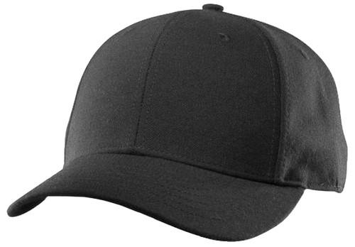 Richardson Black Wool Umpire Base Cap