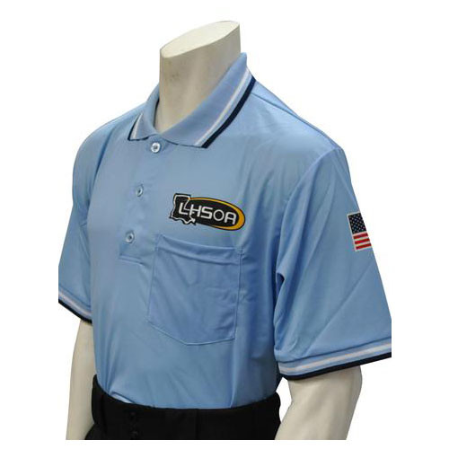 Louisiana LHSOA Embroidered Powder Umpire Shirt