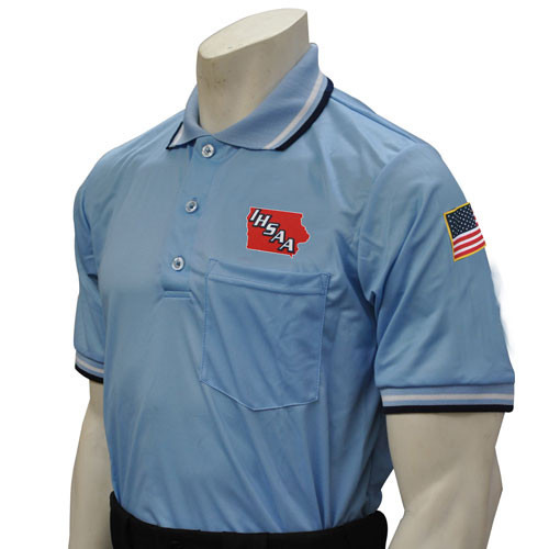 Iowa IHSAA Embroidered Powder Umpire Shirt