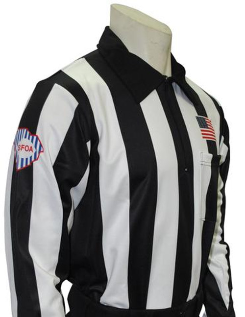 South Carolina SCFOA Foul Weather Long Sleeve Football Referee Shirt