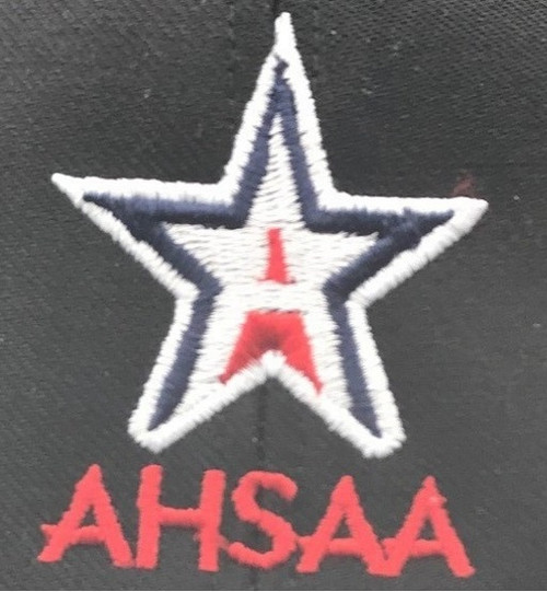 Alabama AHSAA Navy Flex-fit Wool 4-stitch Umpire Plate Cap