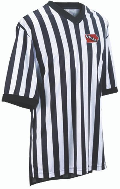 Smitty Iowa IHSAA Embroidered Elite Side Panel Basketball Referee Shirt