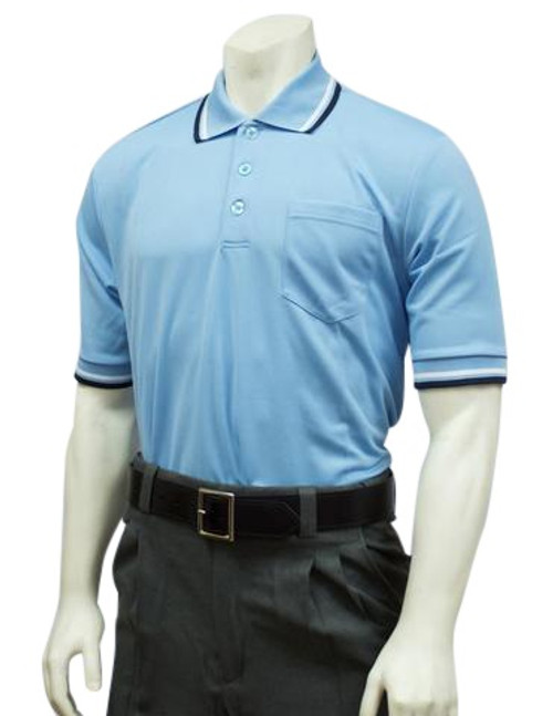 Smitty Powder Blue Ultra Mesh Umpire Shirt
