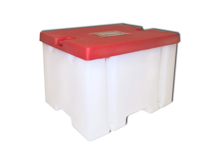 Battery Guard 02601 Dual 6-volt battery box.