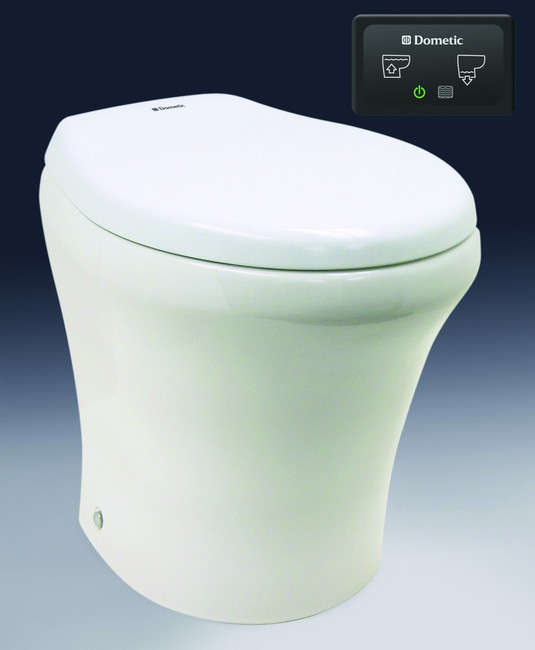 Sealand Masterflush 8900 Toilet standard height . White