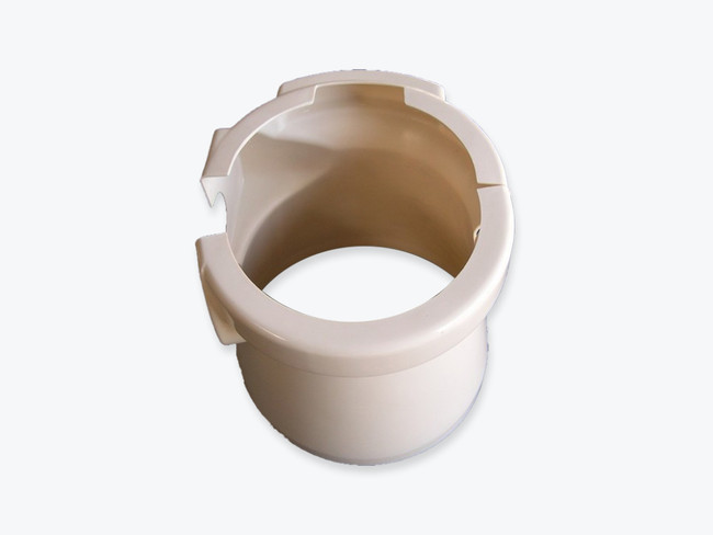 Pedestal cover in Bone color for model 08 toilets