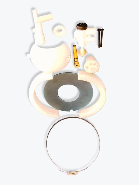 Complete repair kit for 508+ toilet